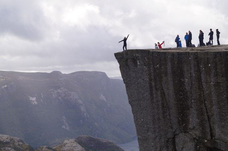 Why Norway's Pulpit Rock is the perfect destination for a weekend hike