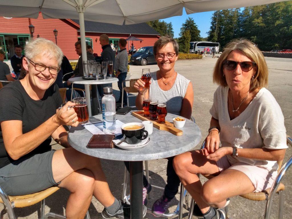 Friends at Fur Bryghus